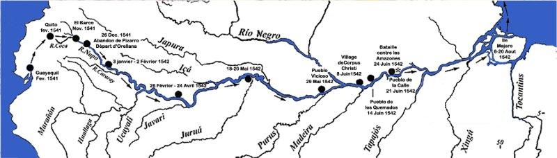 Voyage de Pizarro vers l'Eldorado